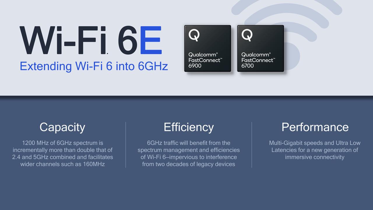 Wi-Fi 6E: Qualcomm bietet WLAN-Chips für das 6-GHz-Spektrum an