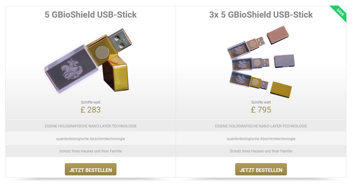 Ein USB-Stick mit 128 MB zum Preis von 315 Euro ist durchaus eine Ansage
