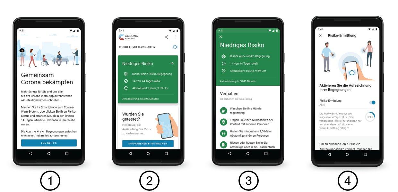 Tracing-App für Android