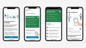 Corona-Tracing-App: Entwickler veröffentlichen Quellcode und Screenshots