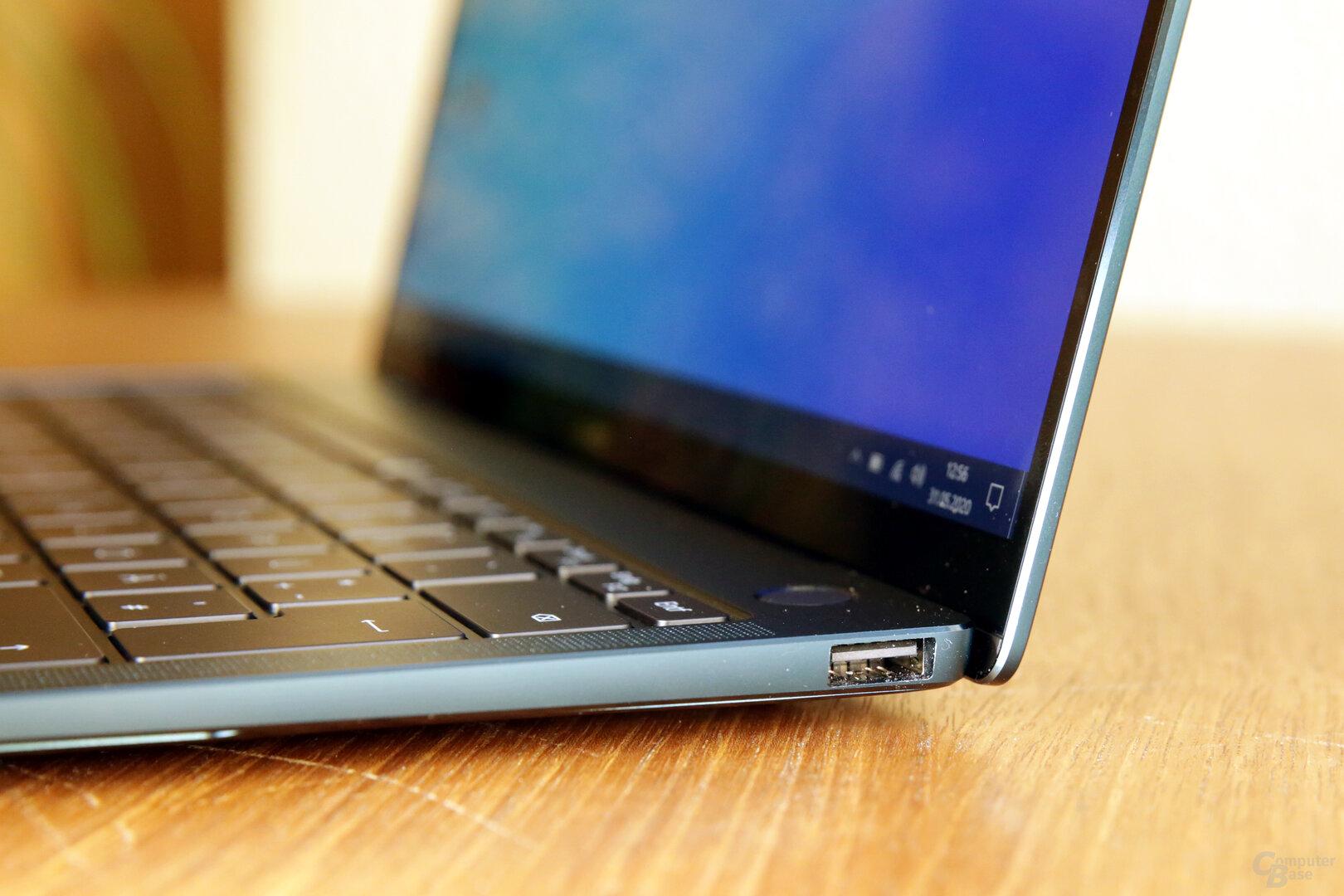 USB 3.2 Gen 1 Typ A auf der rechten Seite