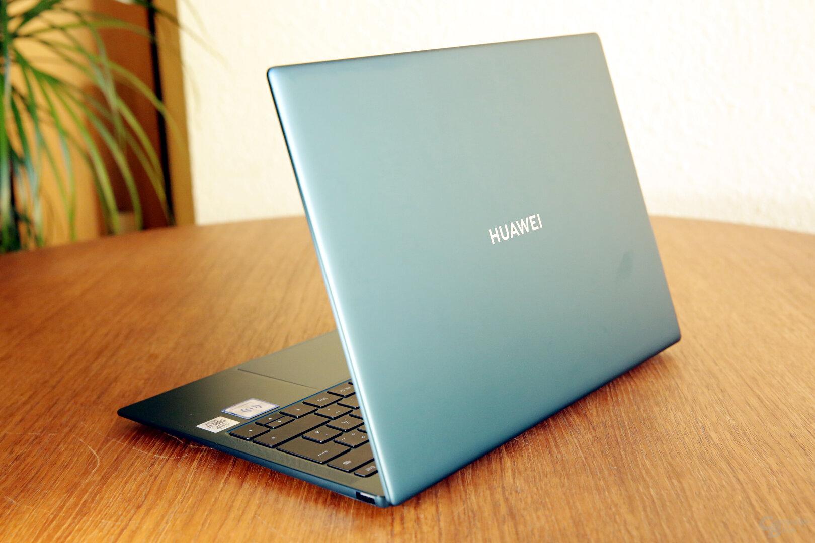 MateBook X Pro in neuer Gehäusefarbe Emerald Green