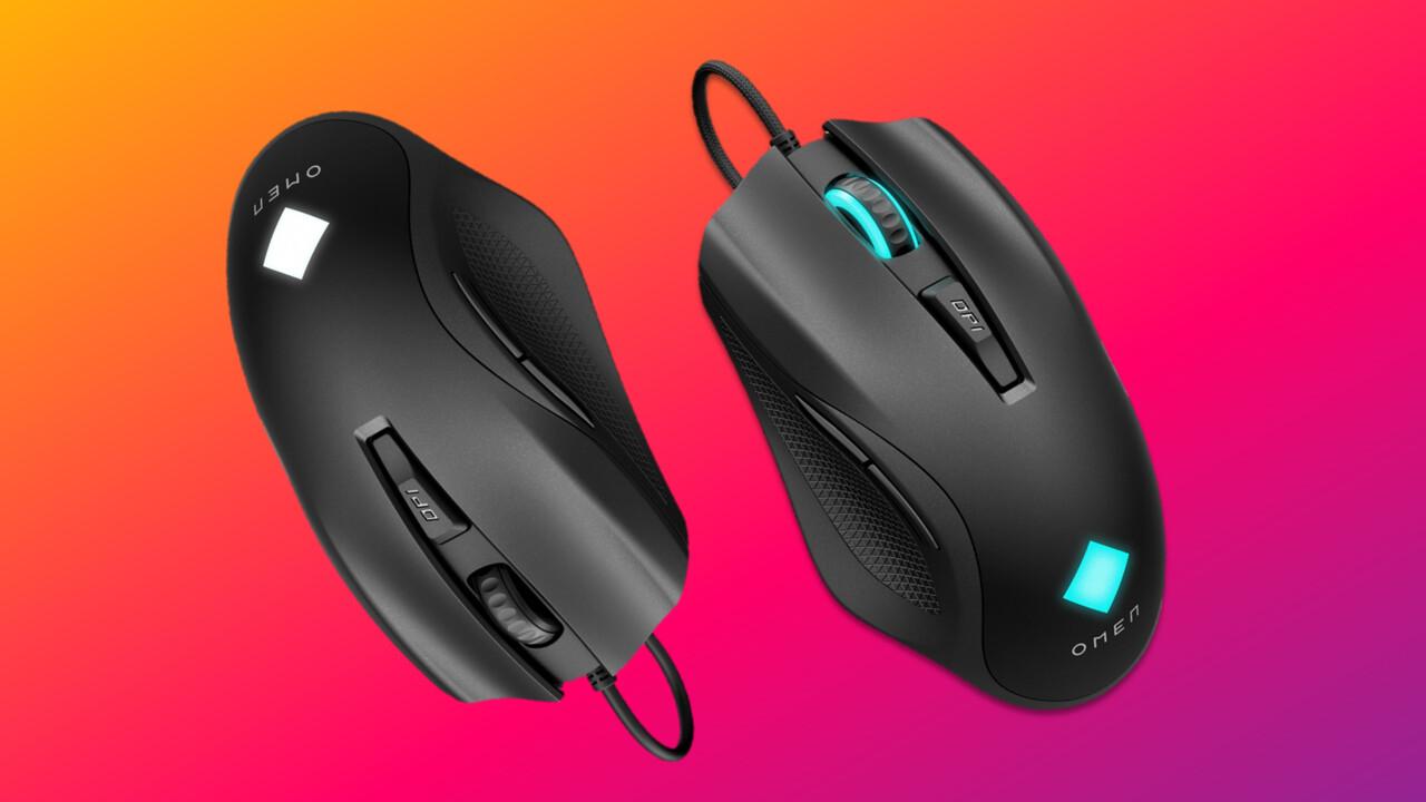 Omen Vector (Essential) Mouse: HP versucht sich an zwei günstigen Palm-Grip-Mäusen