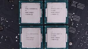 Coffee Lake: Intel schickt Core i7-8700K und 23 andere CPUs in Rente