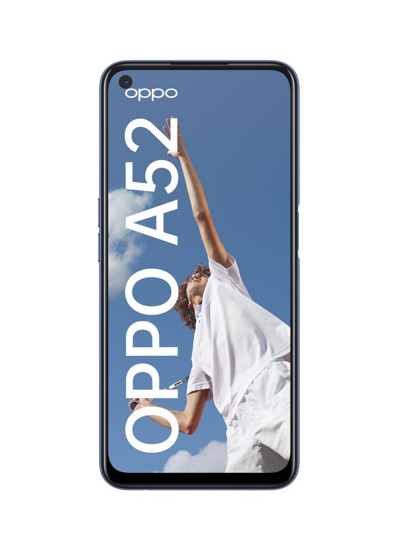 Oppo A52 in Twilight Black