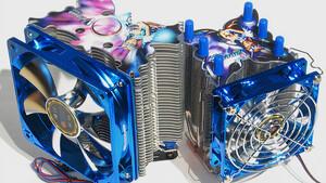 Im Test vor 15 Jahren: Drei CPU-Kühler mit 120-mm-Lüfter fernab der Norm
