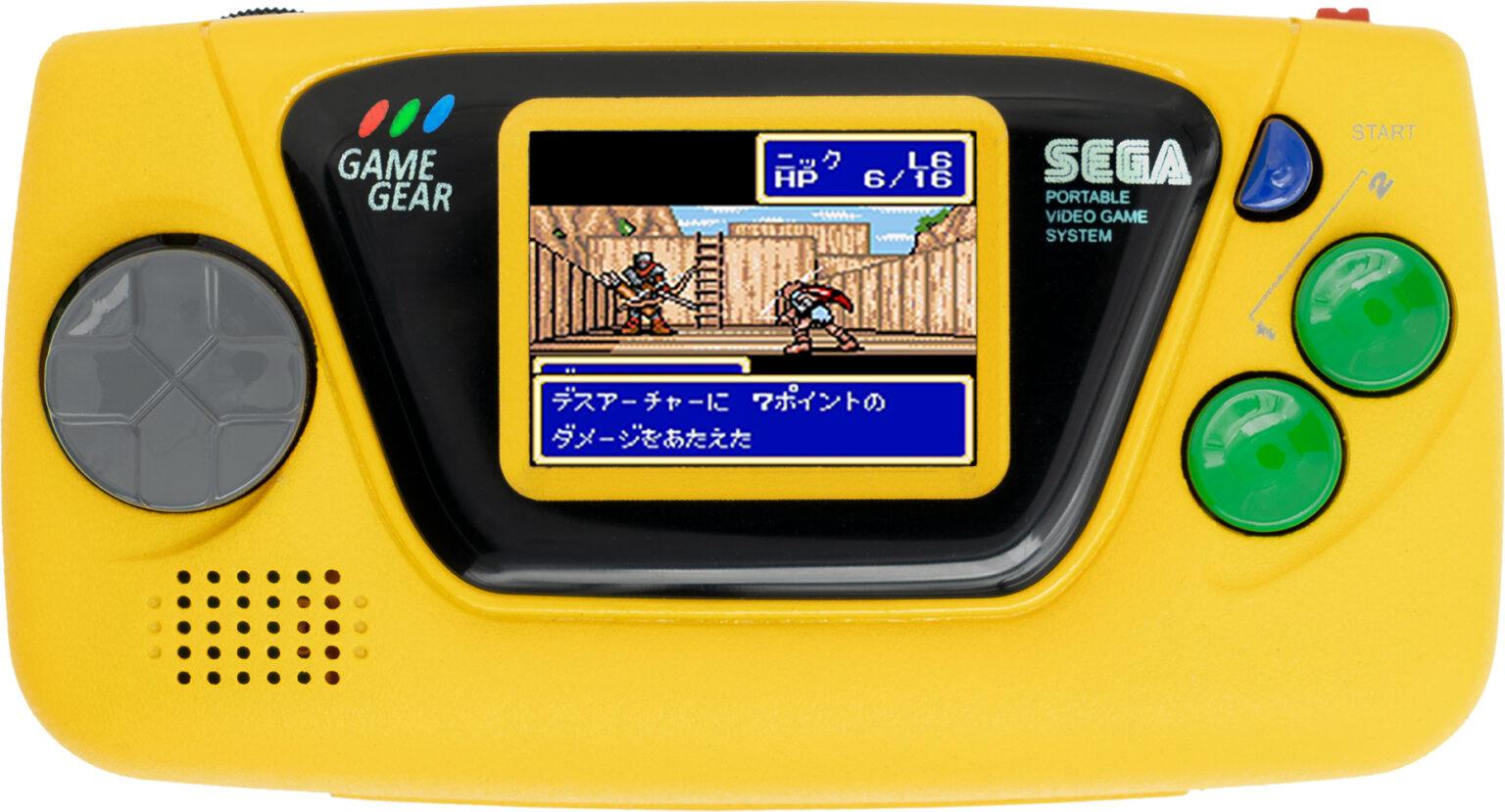 Sega Game Gear Micro (Gelb)