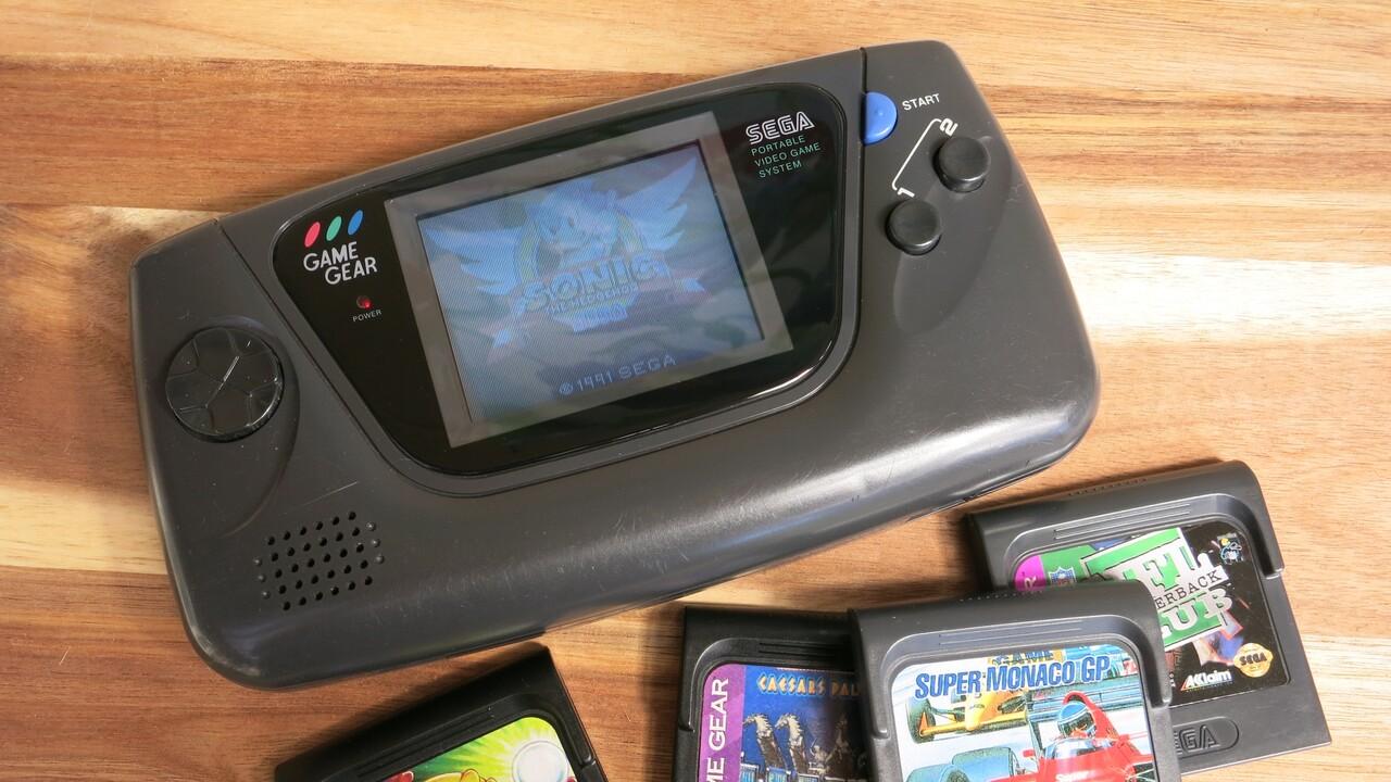 Game Gear Micro: Sega veröffentlicht winzige Spielkonsole am 6.Oktober