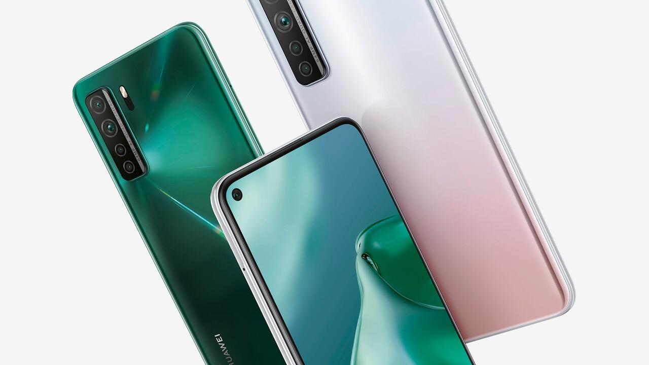 P40 Lite 5G: Huawei bringt 5G-Smartphone für 400Euro