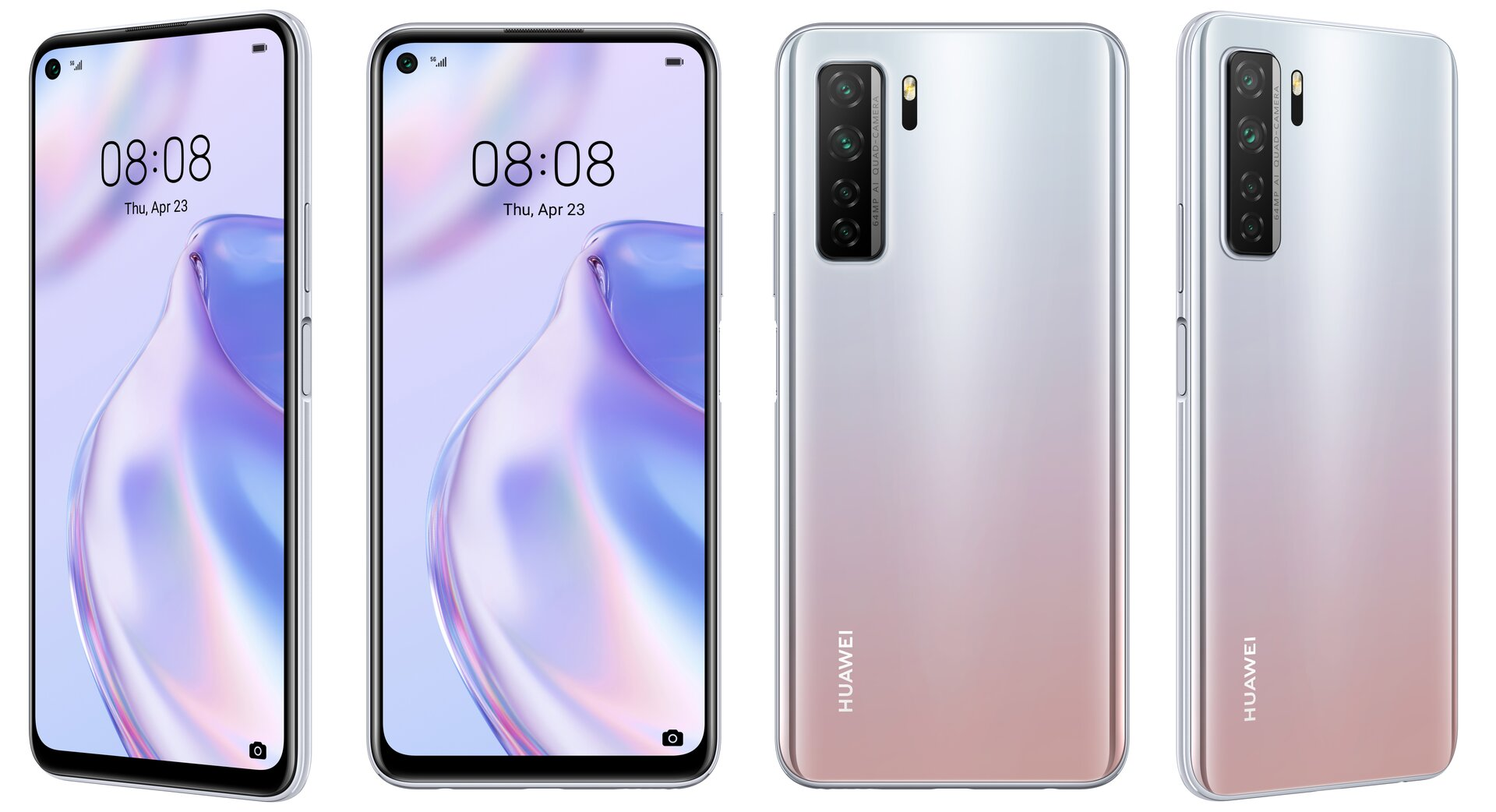 Huawei P40 Lite 5G in Space Silver