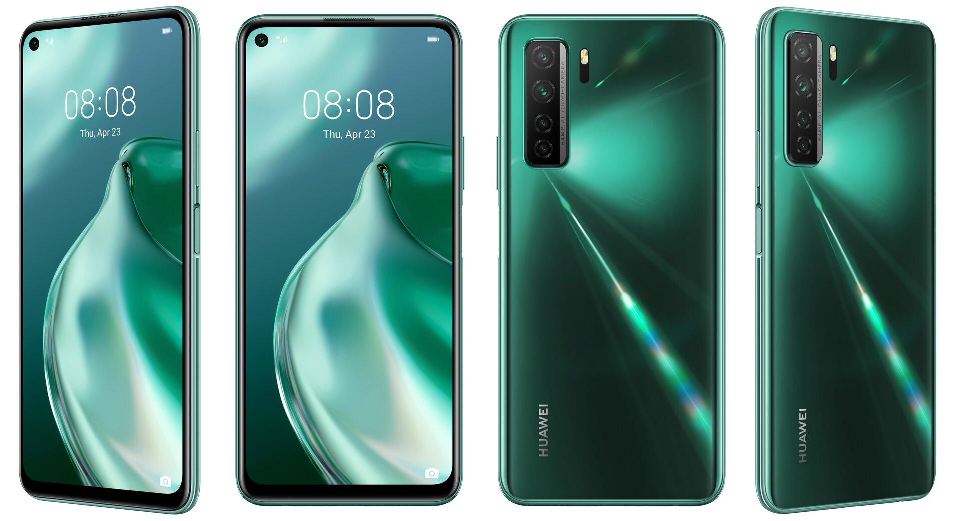 Huawei P40 Lite 5G in Crush Green