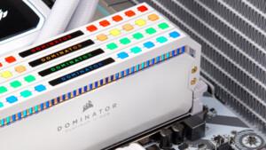 Dominator Platinum White RGB: Corsair legt schnellen Desktop-RAM in Weiß auf