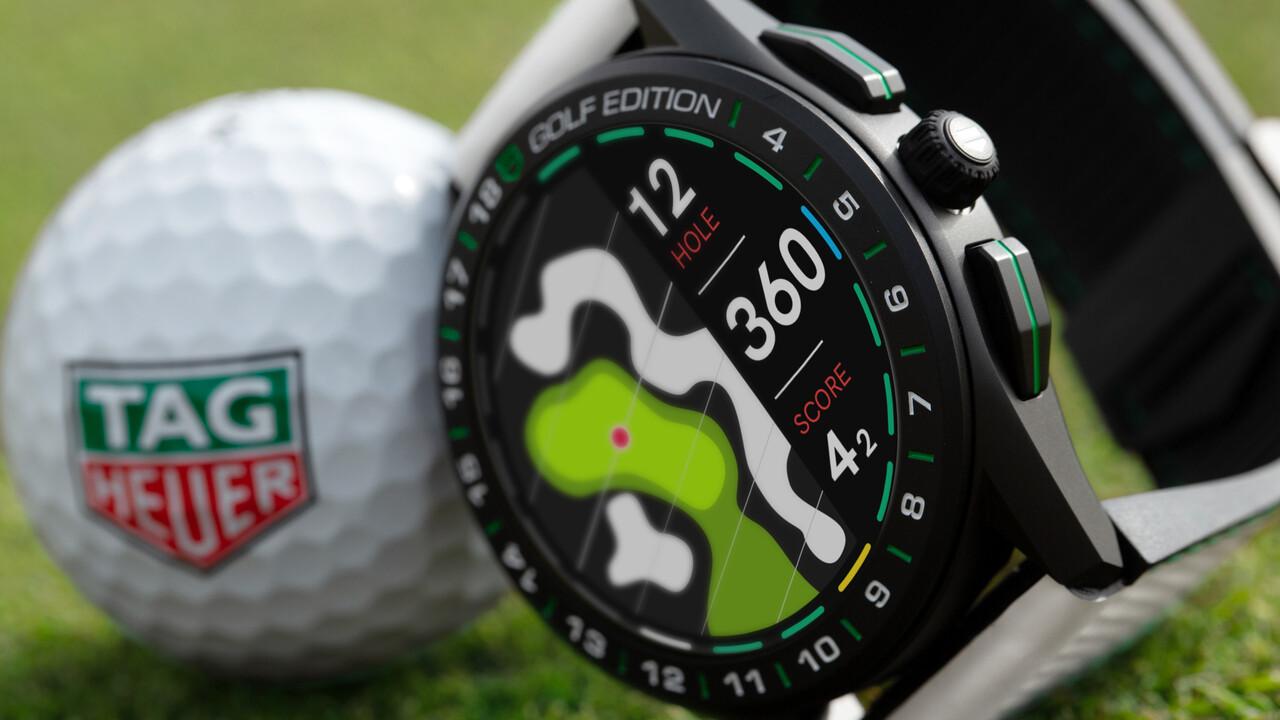 Golf-Smartwatch: TAG Heuer Golf-Edition zeigt wichtige Golfdetails