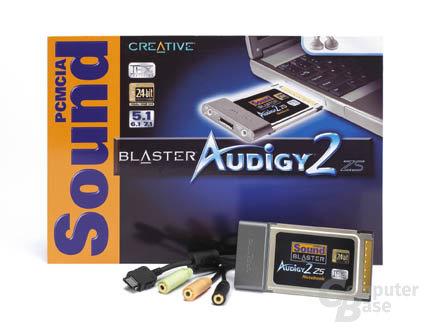 Audigy2 ZS PCMCIA