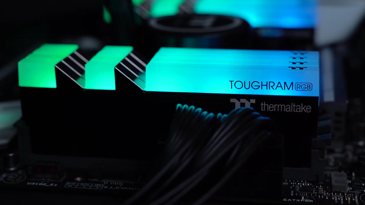 Thermaltake Toughram RGB: RGB-RAM künftig auch als 2er-Kit mit 32 GB und 64 GB