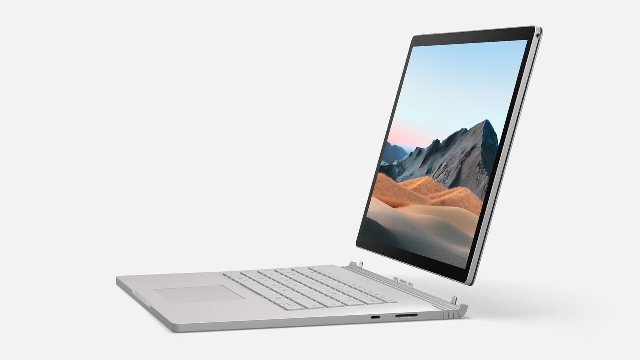 Microsoft: Surface Book 3 und Surface Headphones 2 starten heute