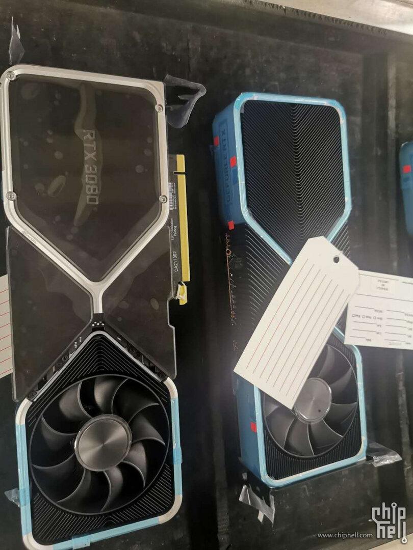 Angeblicher Kühler der GeForce RTX 3080