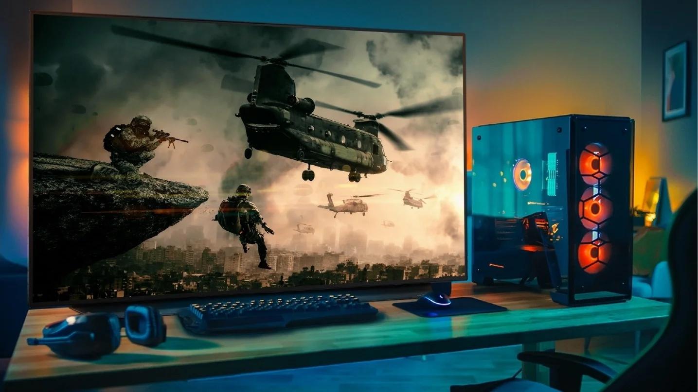 LG OLED 48CX Gaming-TV richtet sich auch an PC-Spieler