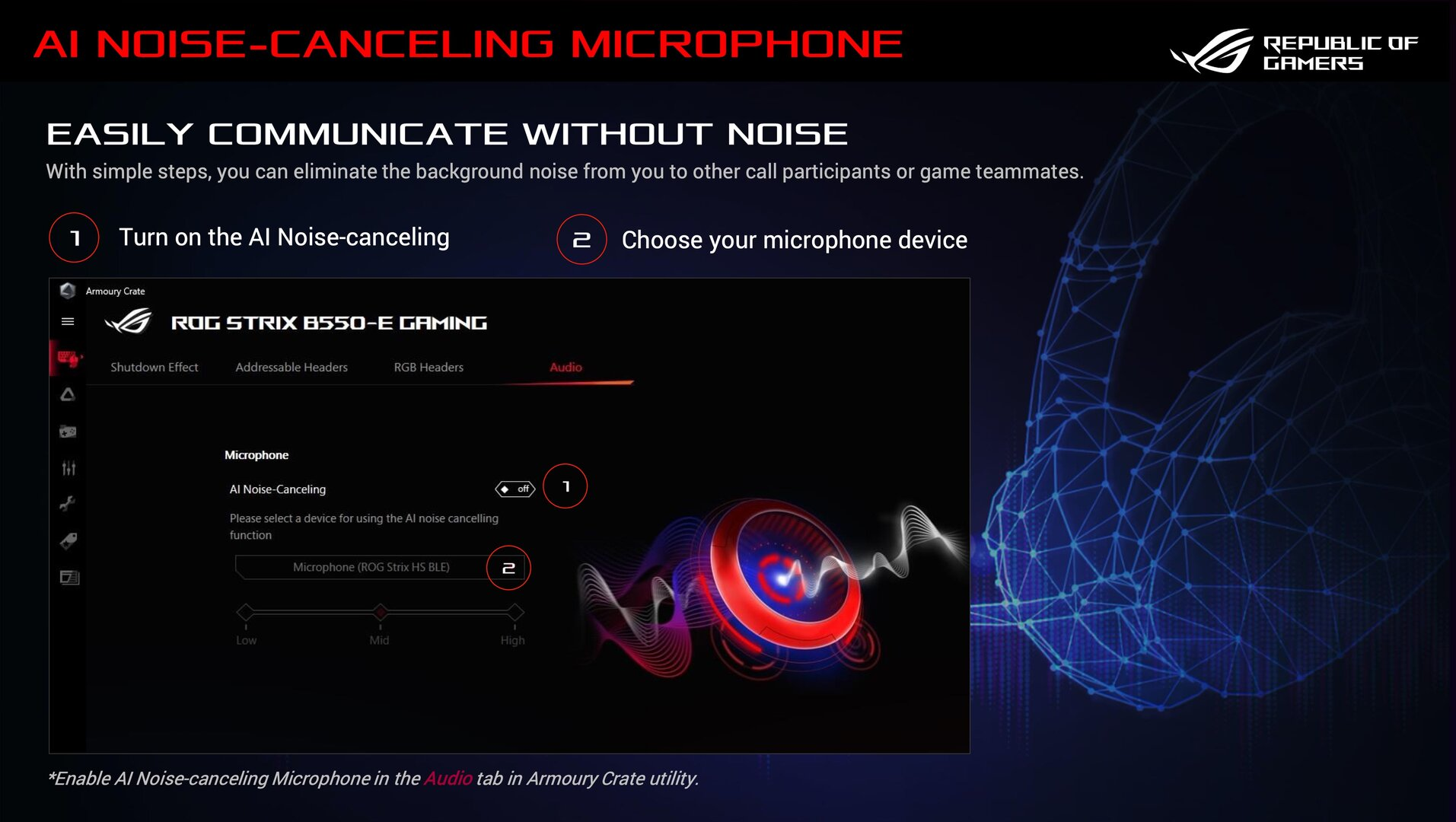 Asus AI Noise-Canceling Microphone