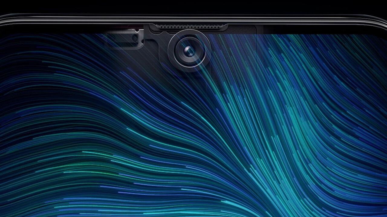 Visionox: Lichtdurchlässiges Display verbirgt Frontkamera