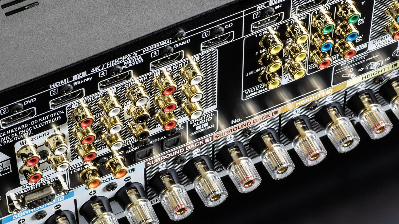 Denon AV-Receiver: Details zu HDMI 2.1, 4K und 8K sowie Latenz für Spieler