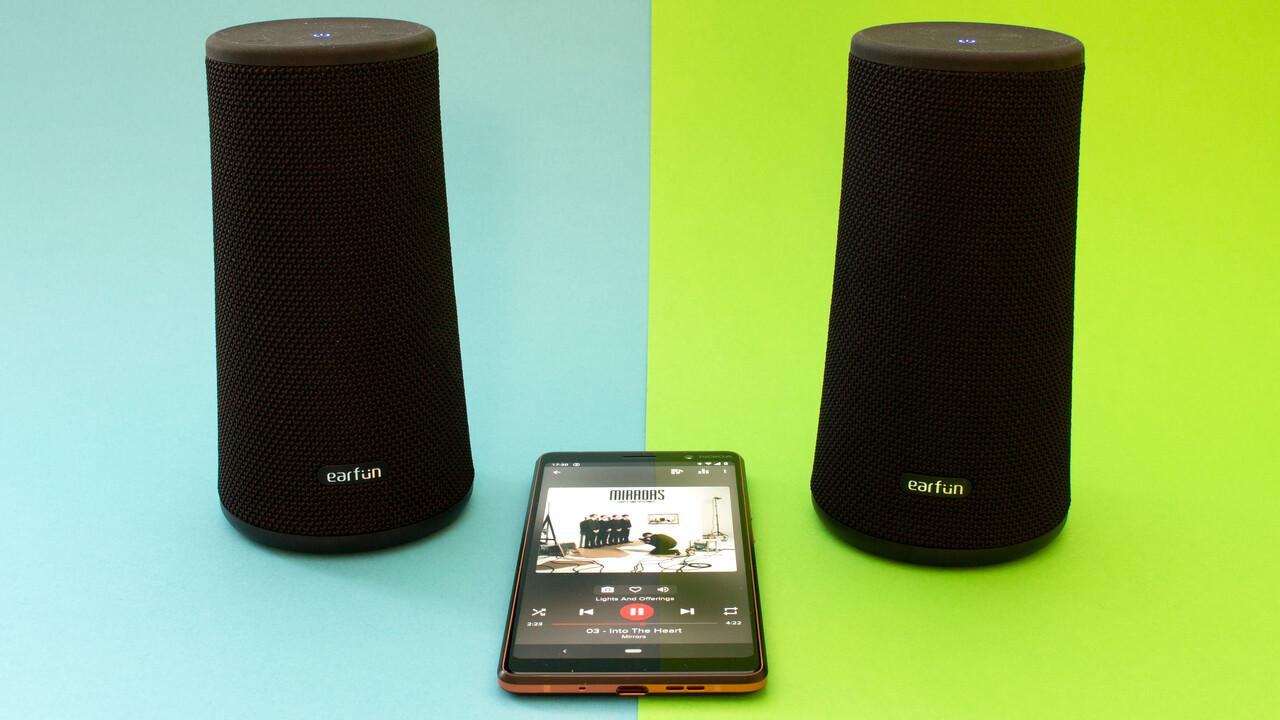 EarFun UBoom im Test: Der Lautsprecher, der es lieber leise mag