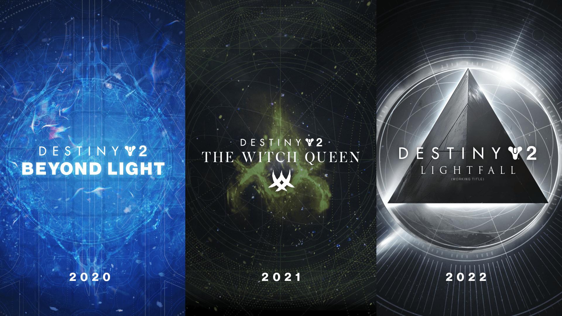 Destiny 2 erhält bis zum Herbst 2022 insgesamt drei neue Erweiterungen