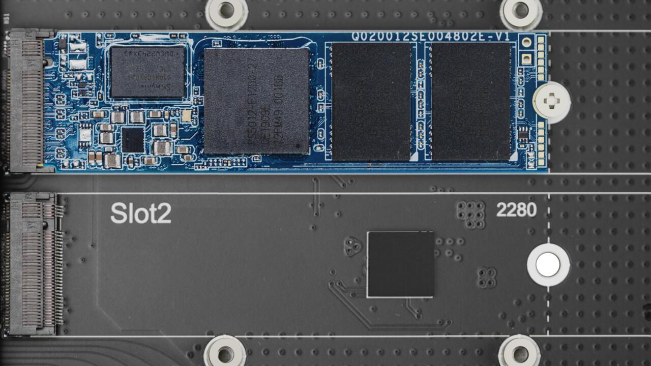 """Synology: NAS-SSDs mit 2,5"""" oder M.2 und neue Erweiterungskarten"""