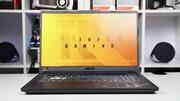 Asus TUF Gaming A17 im Test: Ryzen 4000 und GeForce GTX hecheln um die Wette