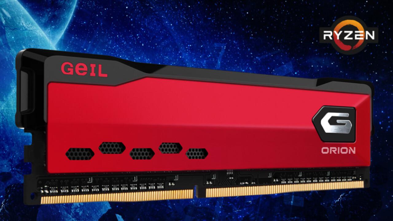 GeIL Orion: Schlichter Desktop-RAM mit 32-GB-DIMMs bis 4.000 MHz