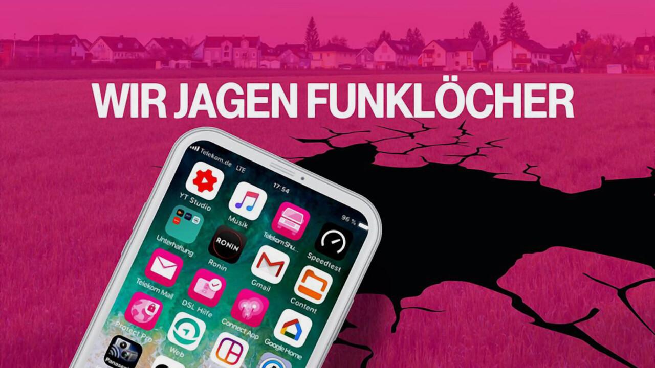 Wir jagen Funklöcher: Die Deutsche Telekom kürt 180 weitere LTE-Gewinner