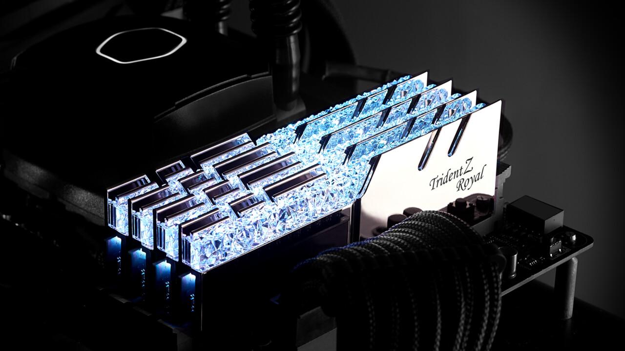 G.Skill Trident Z Royal: Edle DRAM-Module mit DDR4-4400 und 17 Zyklen