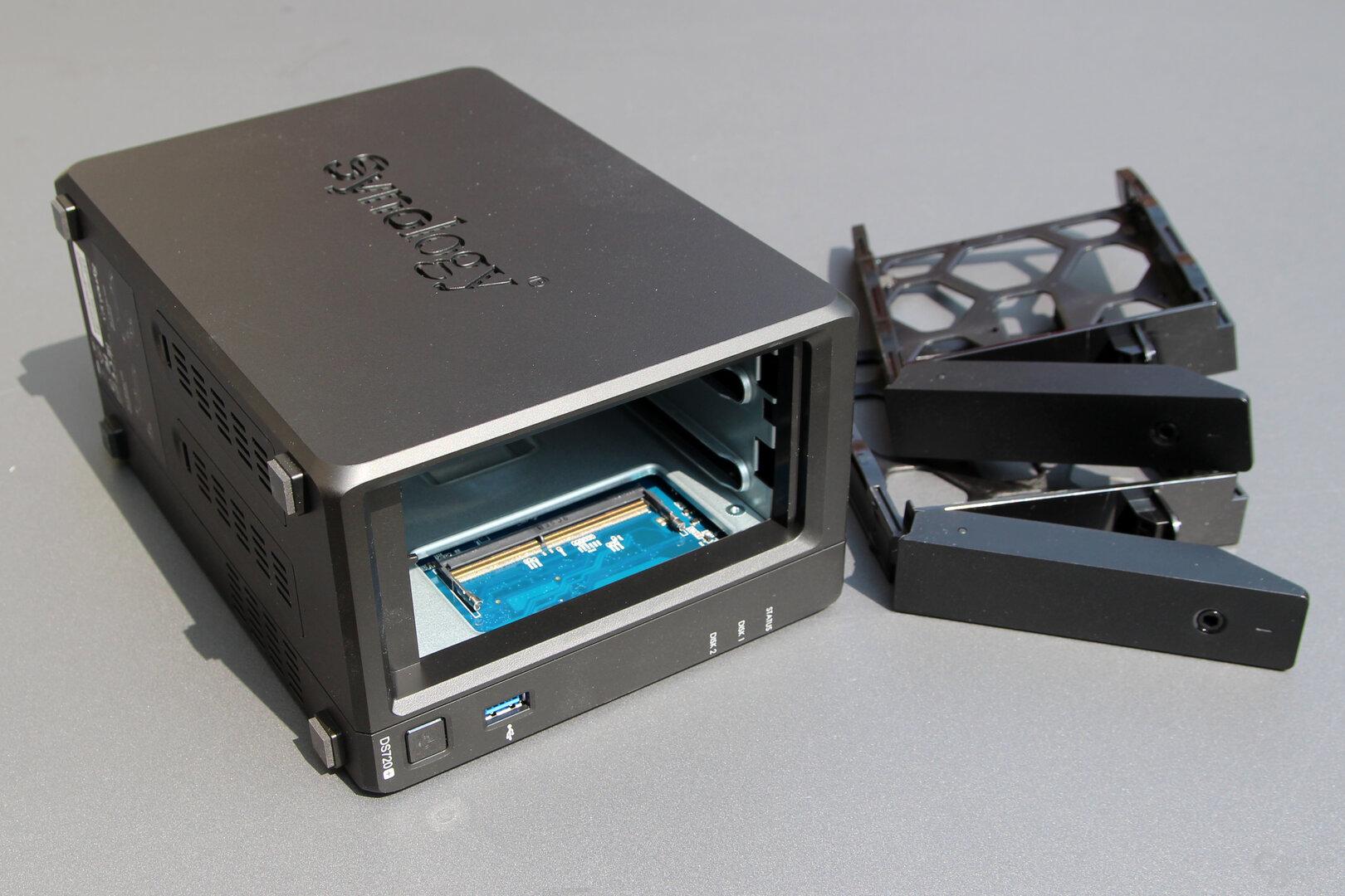 Einfacher RAM-Upgrade bei der Synology DS720+