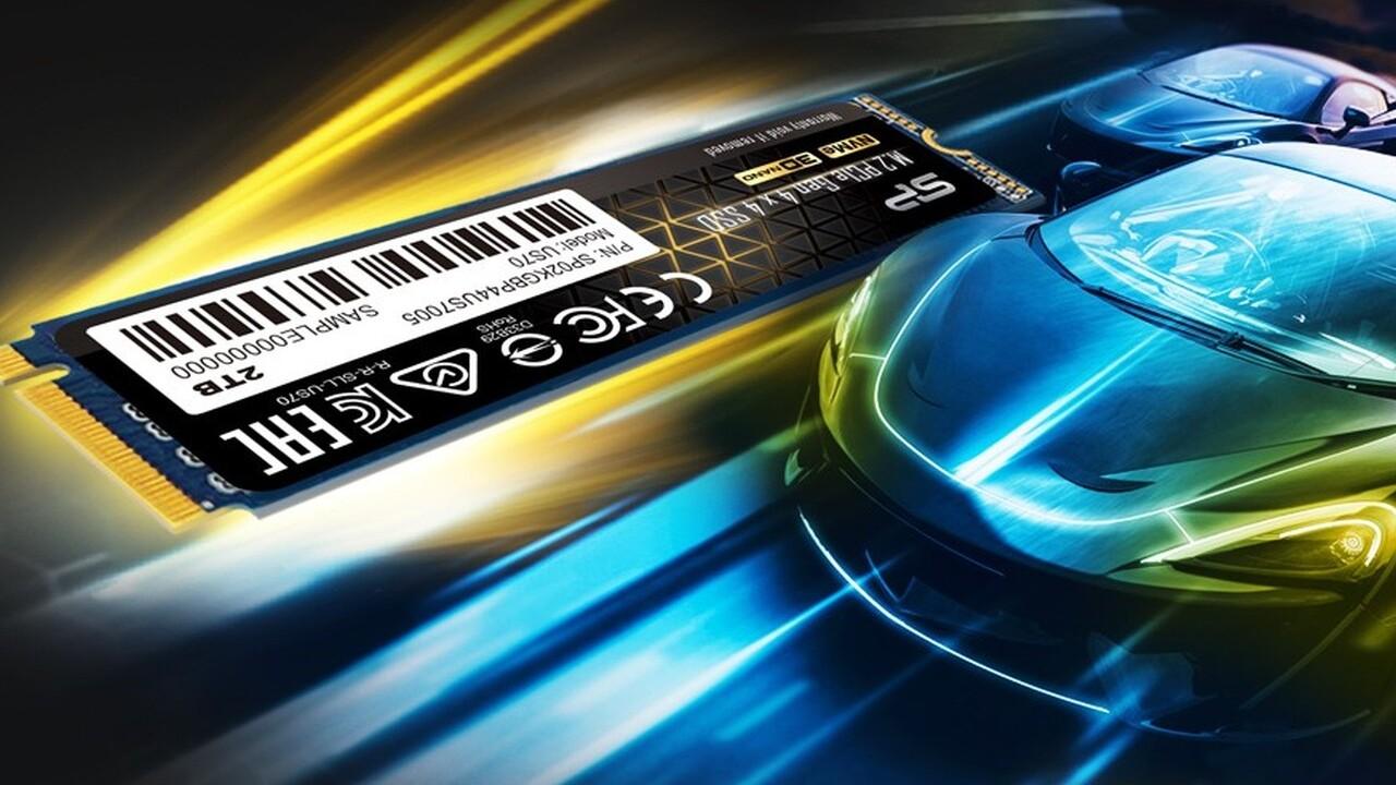 Silicon Power US70: PCIe-4.0-SSD mit 5GB/s nach üblichem Schema