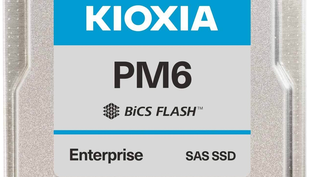 Kioxia PM6: Erste 24G-SAS-SSDs für Server eingeführt