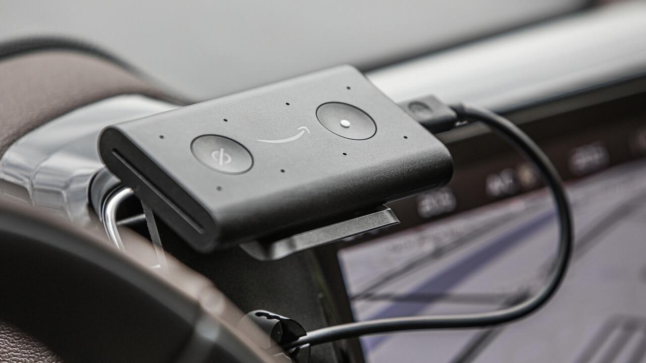 Echo Auto: Amazon bringt Alexa für 60Euro ins Fahrzeug