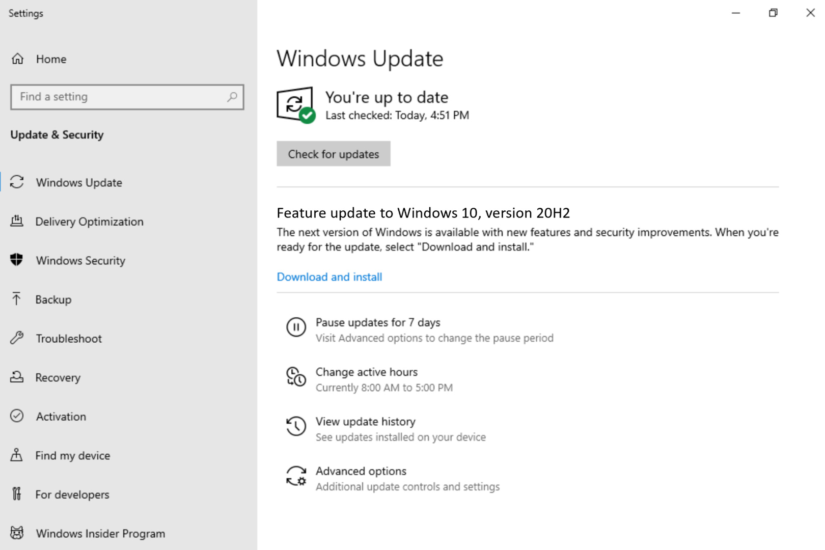 Windows 10 Insider Preview Build 19042.330 wird bereits im Beta Channel verteilt