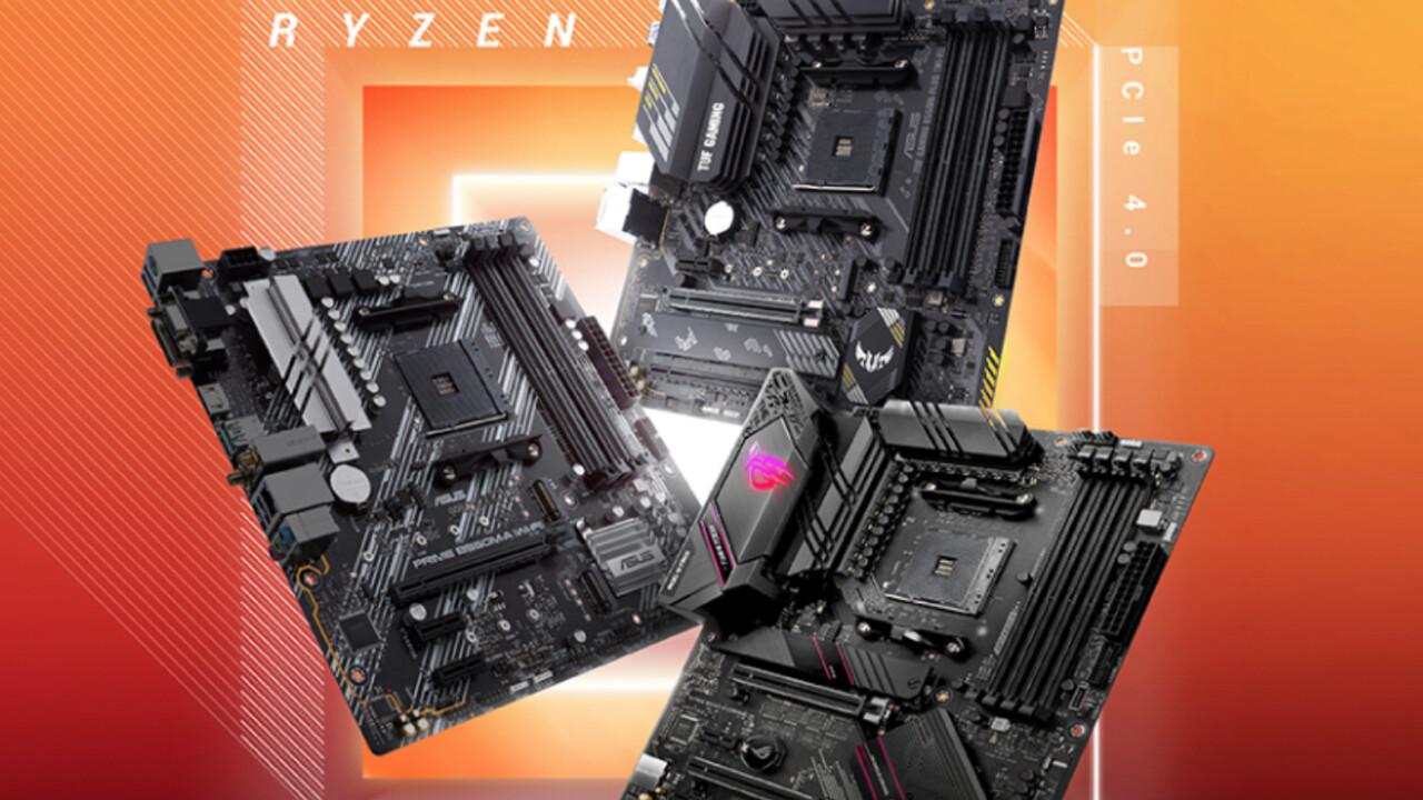 BIOS-Version 0608: Asus Performance Enhancement für AMD B550