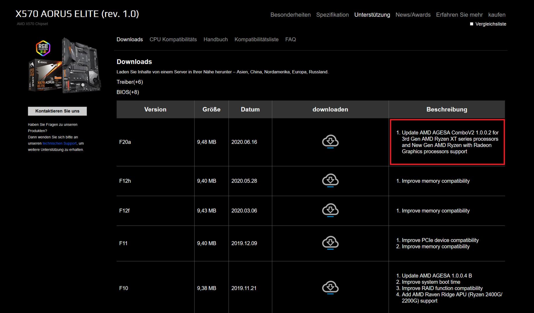 Neue BIOS-Versionen mit AMD AGESA v2 für Ryzen XT, Renoir und Zen 3
