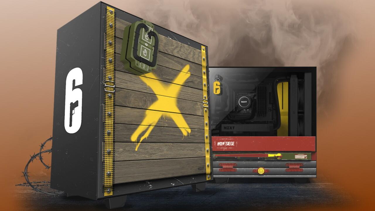 H510 Siege CRFT 06: NZXT bietet Gehäuse im Rainbow-Six-Design an