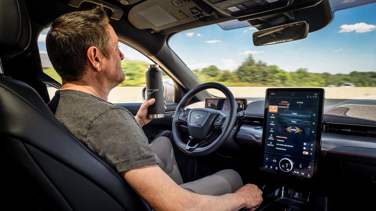Ford Mustang Mach-E: Update für autonomes Fahren kommt im dritten Quartal 2021