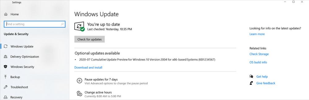 Optionale Updates für Windows 10 starten im Juni unter neuem Namen