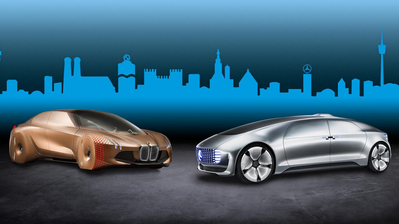 Automatisiertes Fahren: BMW und Mercedes-Benz lassen Kooperation ruhen