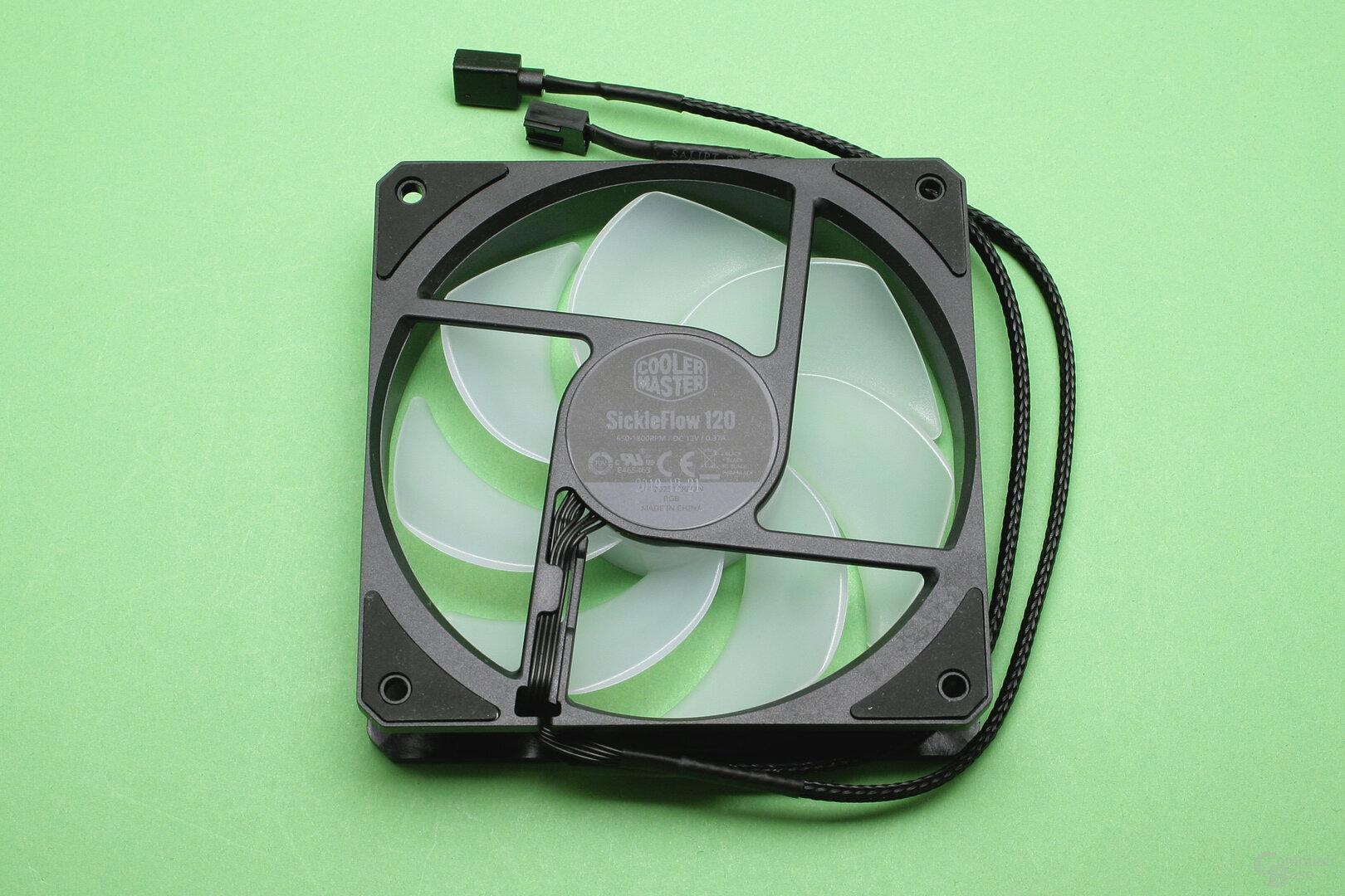 Cooler Master MasterLiquid ML240L V2 RGB: Beleuchteter 120-mm-Serienlüfter