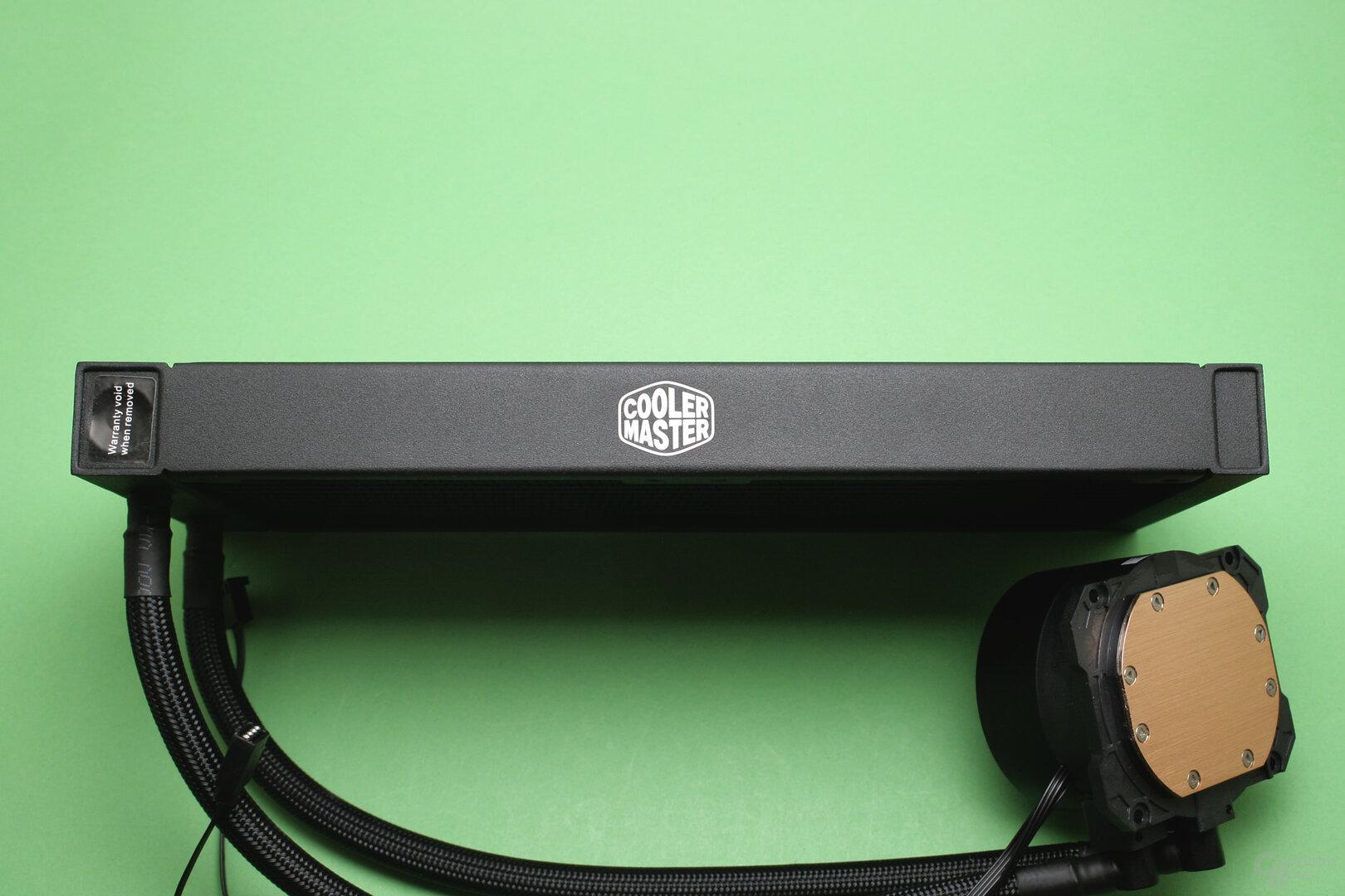 Cooler Master MasterLiquid ML240L V2 RGB: Seitenansicht des Radiators