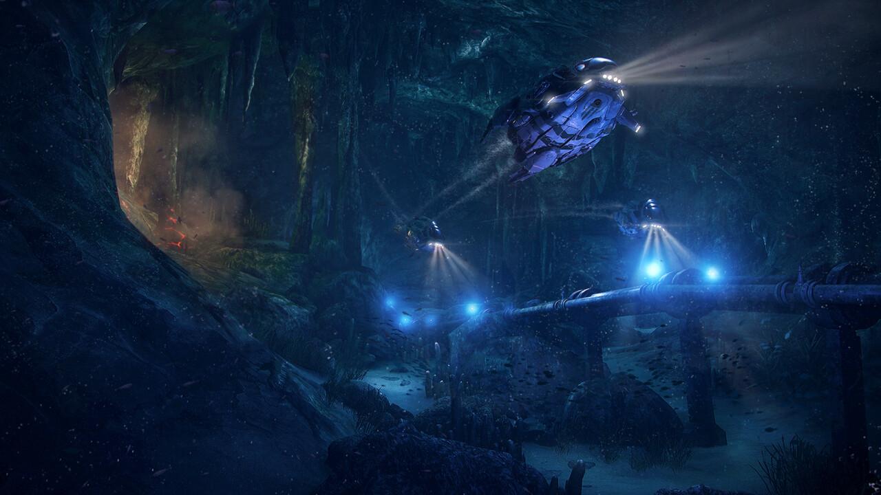 Aquanox Deep Descent: Gameplay des Unterwasser-Shooters aufgetaucht