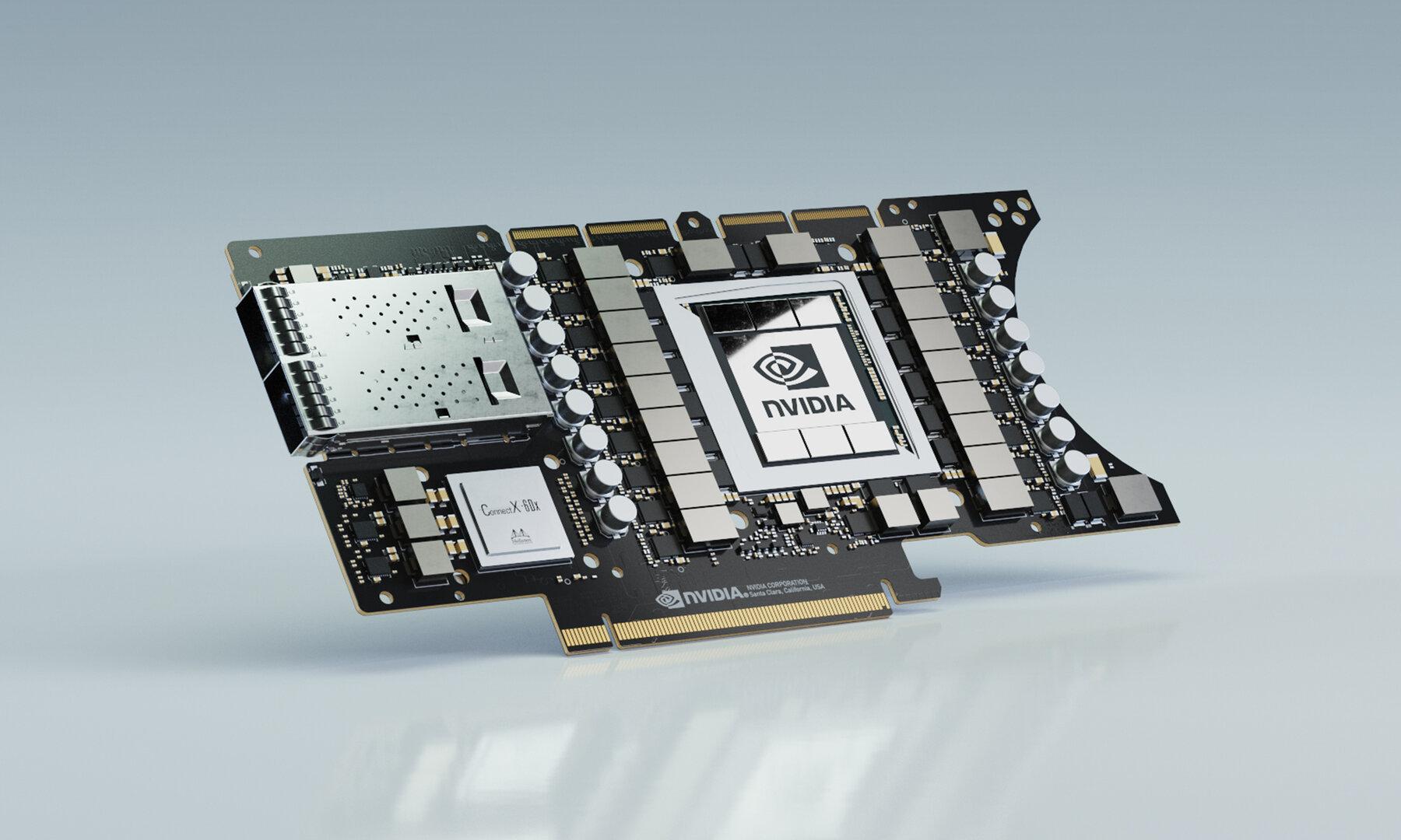 Nvidia EGX A100 mit zwei Mellanox ConnectX-6 DX für die Edge-Cloud