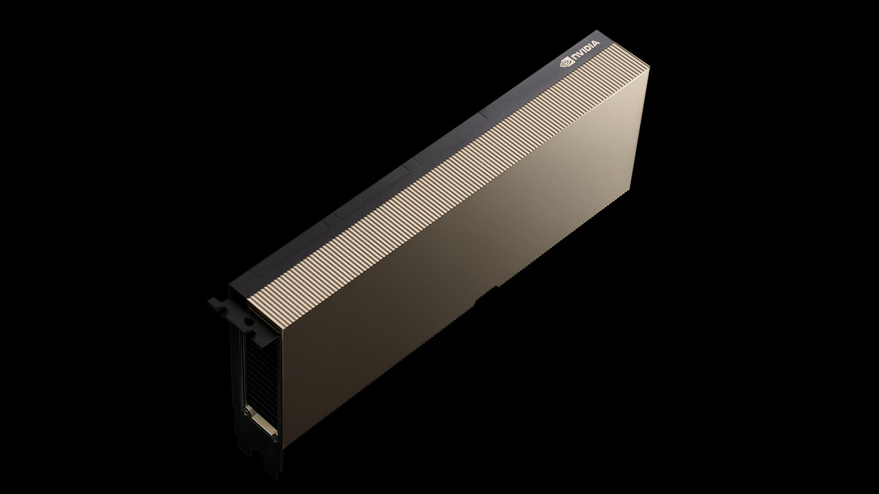Ampere: Nvidia bietet A100 als PCIe-Karte für Server an