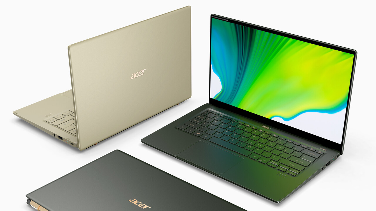 Swift 5: Acer bringt Tiger Lake und Thunderbolt 4 ins Notebook