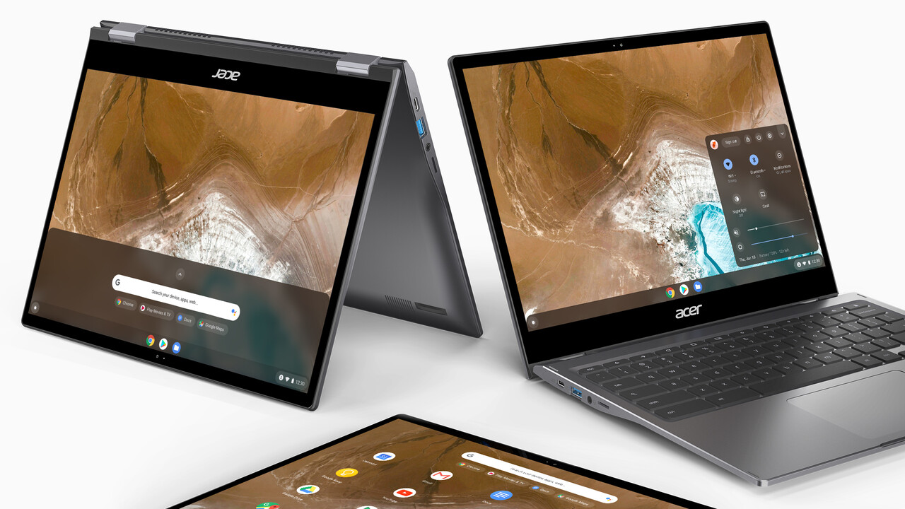 Acer Chromebook Spin 713: Robustes Project-Athena-Chromebook mit 3:2-Display
